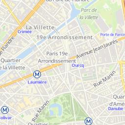 Carte Buttes Chaumont.Buttes Chaumont Et Alentours Office De Tourisme Paris